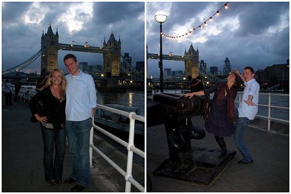 Tower Bridge at Night - London