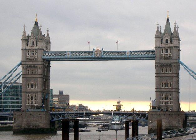 Visiting London - Tower Bridge