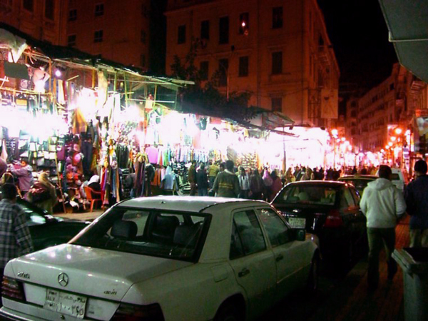 Alexandria, Egypt Night Market