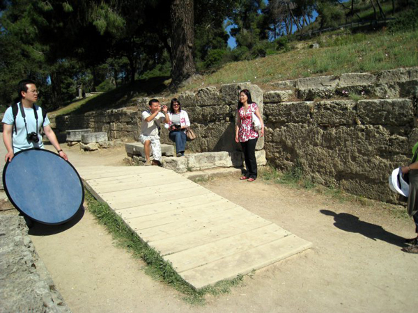 Roadtrip, Part I - Olympia and the Oracle of Delphi