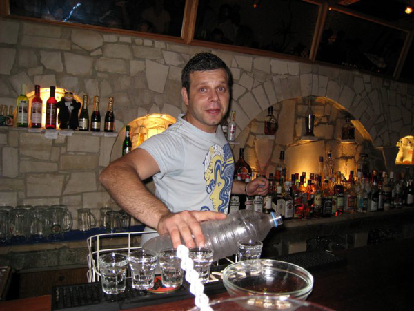 Exploring Crete, Greece - Drinking Raki