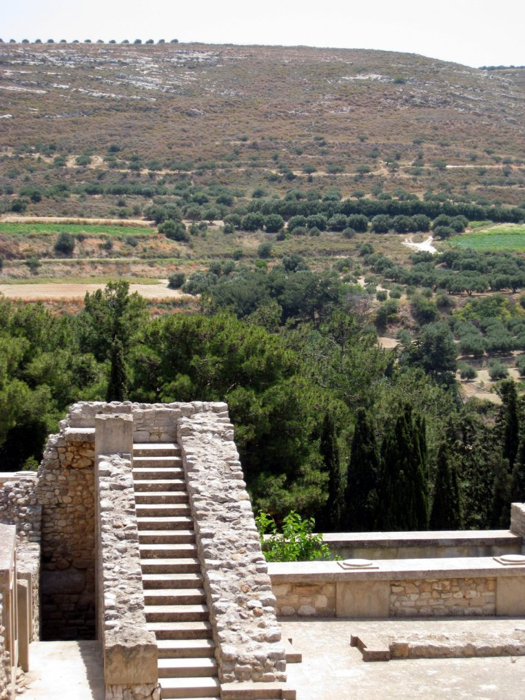 Exploring Crete, Greece - Knossos Minoan Palace