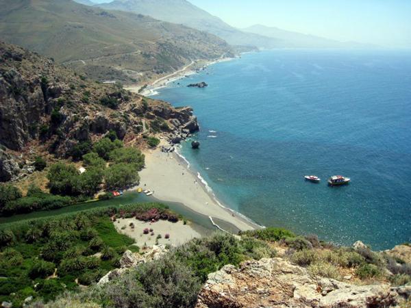 Exploring Crete, Greece - Prevali Beach