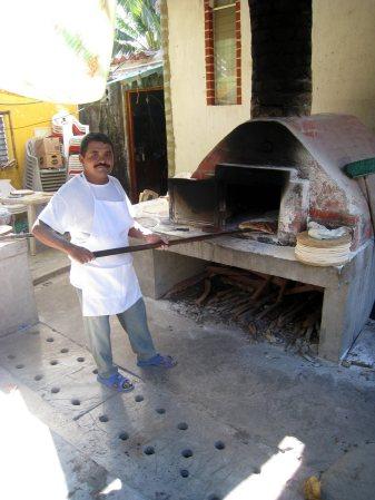 Wood Fired Pizza Monterrico Guatemala
