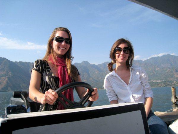 Panajachel Guatemala Lake Atitlan Boat Ride
