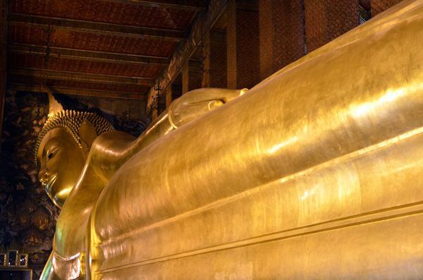 Reclining Buddha Bangkok Thailand | Running Blonde