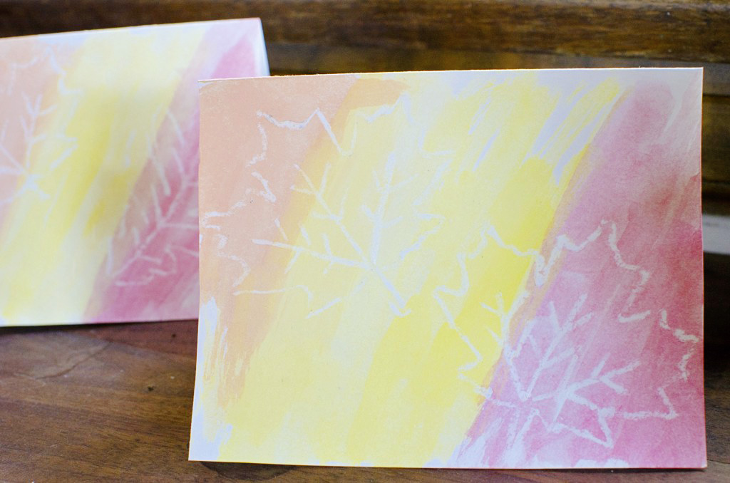 Easy DIY Watercolor Greeting Cards and Thank You Notes