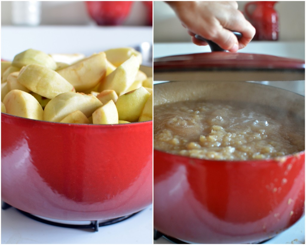 Canning Homemade Applesauce | A Side of Sweet