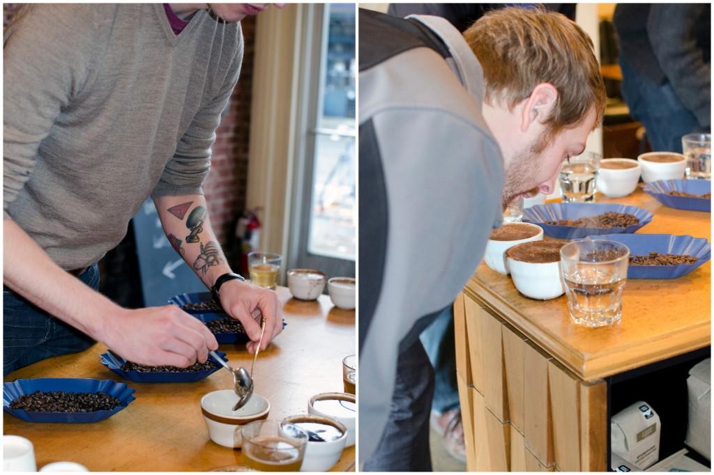 Coffee Tasting Stumptown Portland | Running Blonde