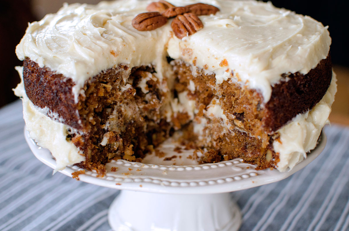 Best Carrot Cake Recipe Uk