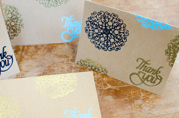 Easy Embossed Greeting Card - perfect for any occasion