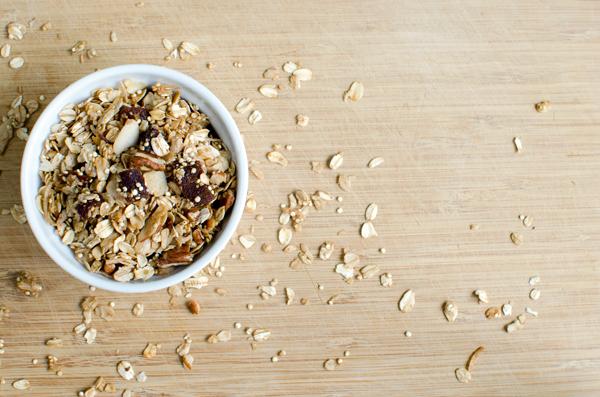 Apricot Quinoa Granola Recipe - a breakfast superfood