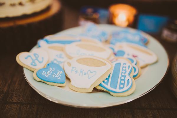 DIY Dessert Table - Wedding Sugar Cookies