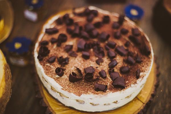 DIY Dessert Table Tiramisu with Chocolate Curls
