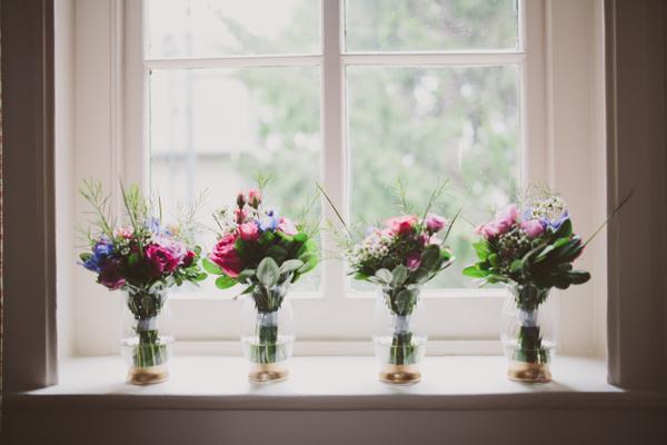 Wedding Details - Gilded Vases