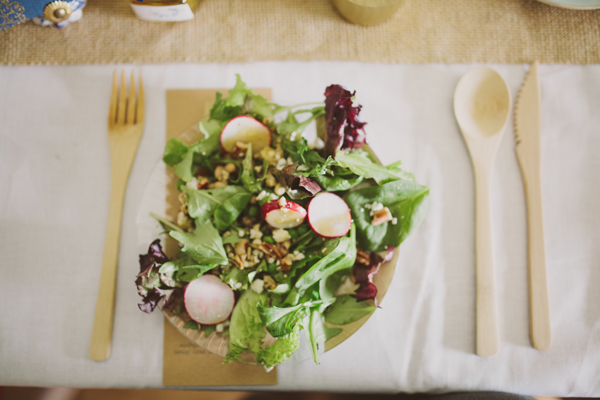 Wedding Details - Farmer's Market Salad