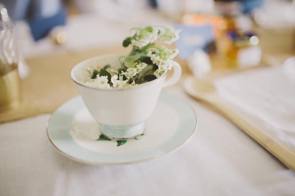 Wedding Details - Teacup Decorations