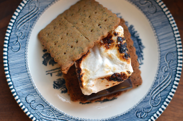 Chai Tea S'mores with Cardamom Marshmallows Recipe