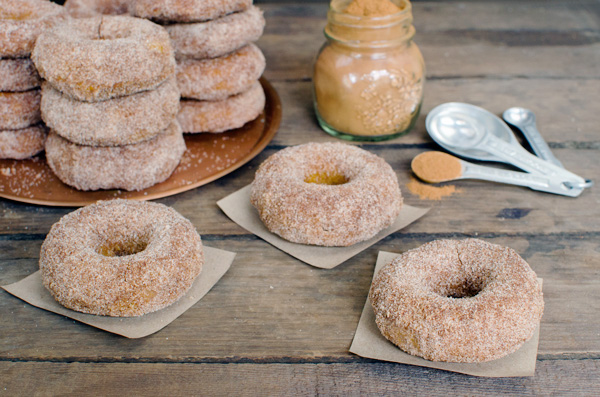 Healthy Baked Pumpkin Spice Donuts Recipe for Fall!