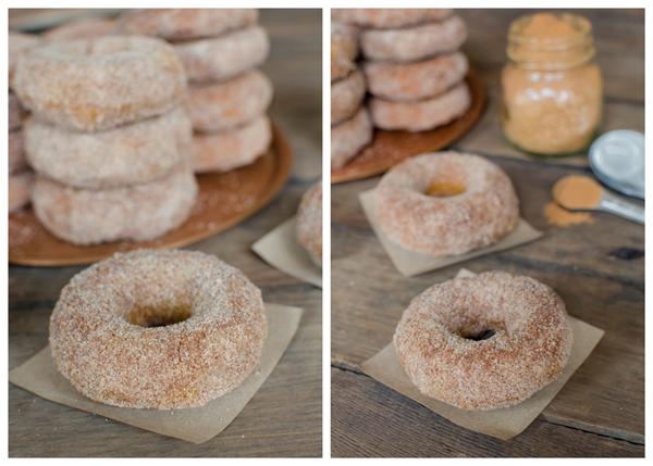 Baked Pumpkin Doughnuts - nom, nom, nom!