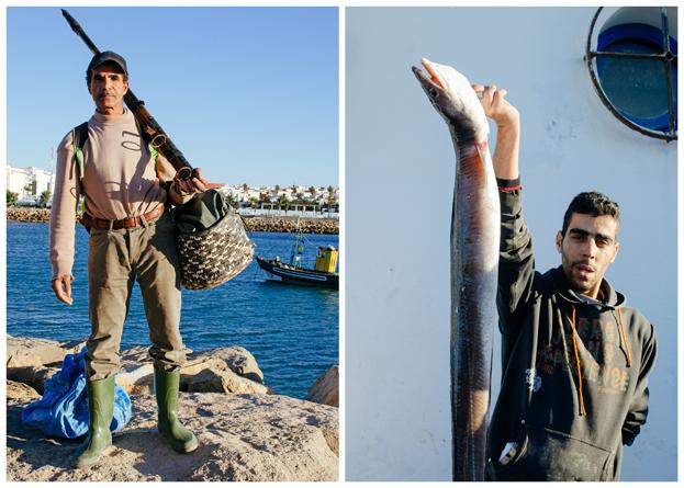 Morocco Honeymoon :: Asilah, Morocco - Local Fishermen