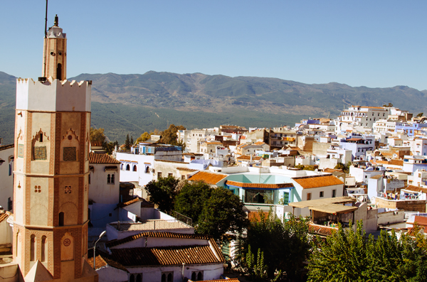 Morocco Honeymoon :: View from the Kasbah - Chefchaouen Morocco