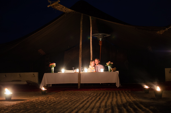 Marrakech, Morocco :: Romantic Candlelight Dinner