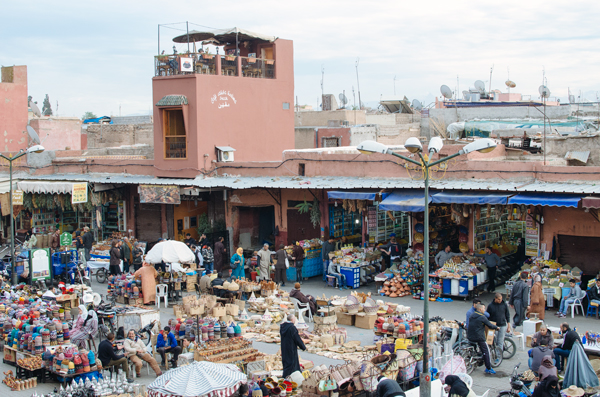 Visiting Marrakech Morocco :: Place des epices