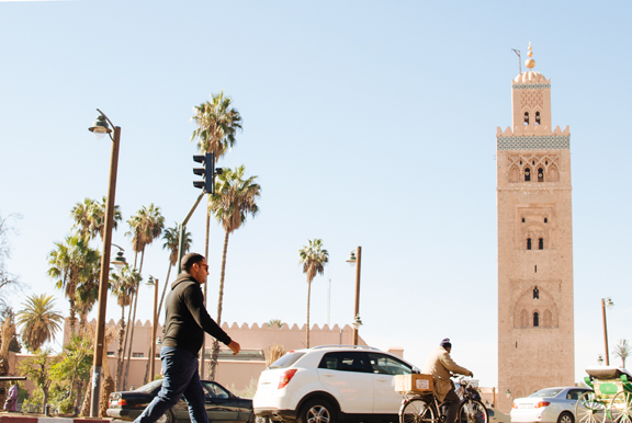 Visiting Marrakech Morocco :: Koutoubia Mosque
