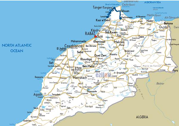 Moroccan Adventure Map