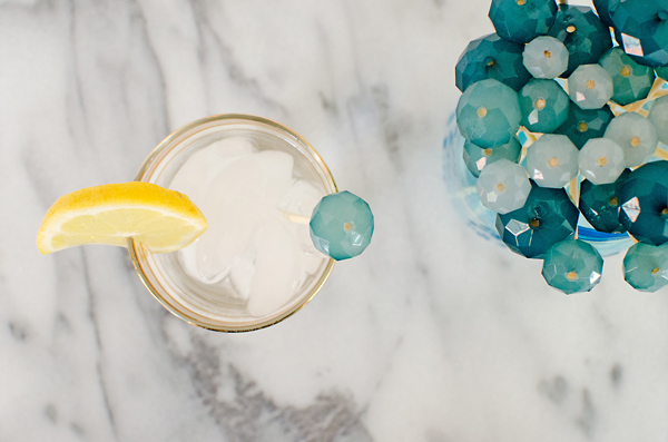 Do This :: Turn an old necklace into DIY Drink Stirrers!