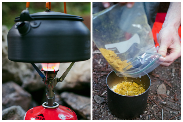 Meals for camping - camping curry recipe with quinoa