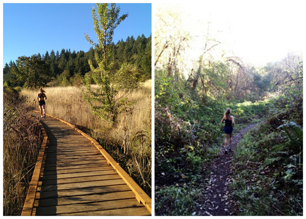 Running Bald Hill Corvallis, Oregon