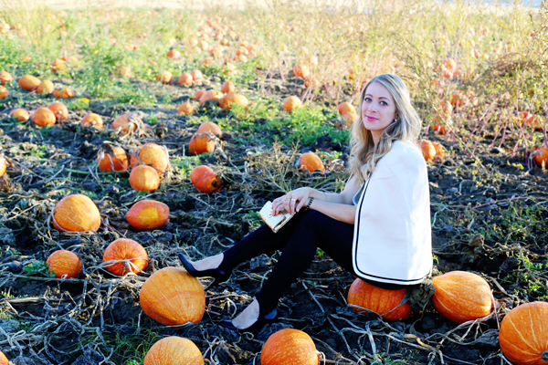 Fall Style :: Wearing a Cape