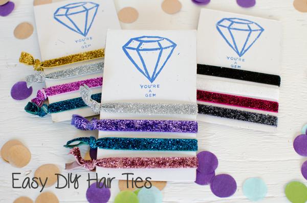 Best of 2014 // Easy DIY Elastic Hair Ties
