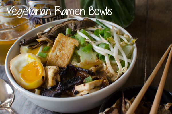 Best of 2014 // Vegetarian Ramen Bowls Recipe