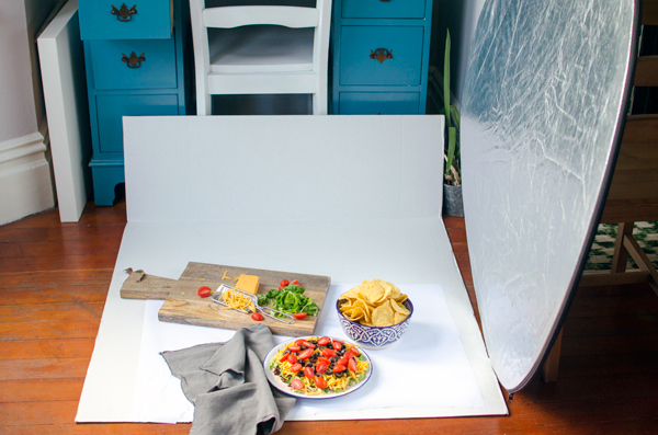 Tips for setting up food photography for blogging