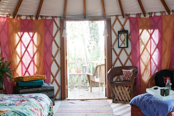 Urban Paradise - Stay in a luxury yurt in the middle of Los Angeles