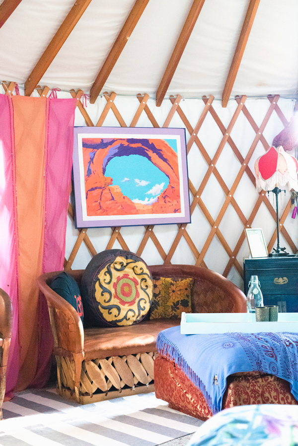 Dream Vacation :: Romantic Yurt in Silverlake Los Angeles on AirBnB