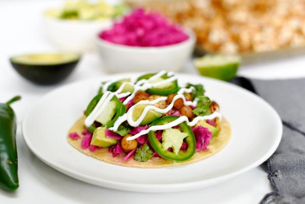 Making this tonight - chickpea cauliflower vegetarian taco recipe