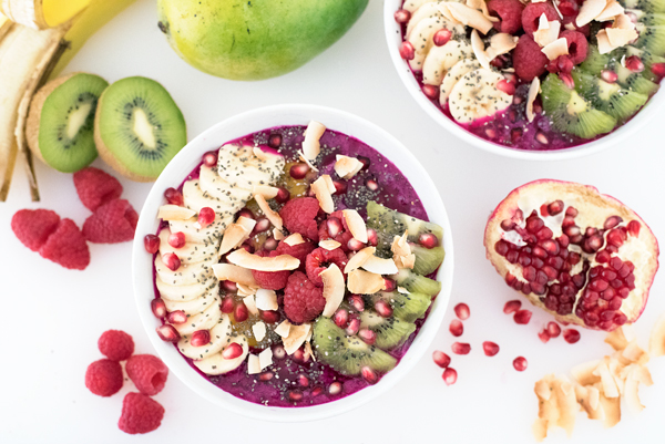 Pitaya dragonfruit bowl puree recipe antioxidant 3924