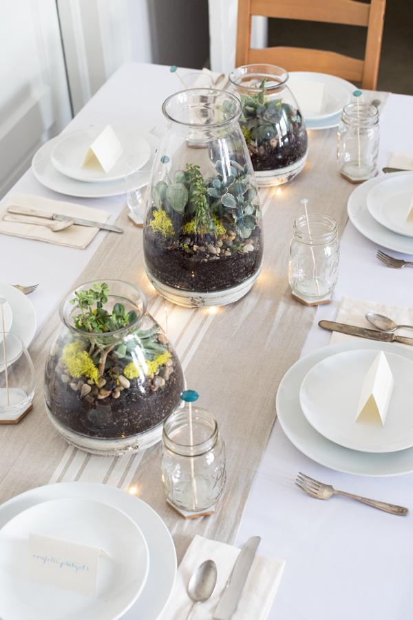 Gorgeous and EasyDIY Wedding Succulent Centerpiece