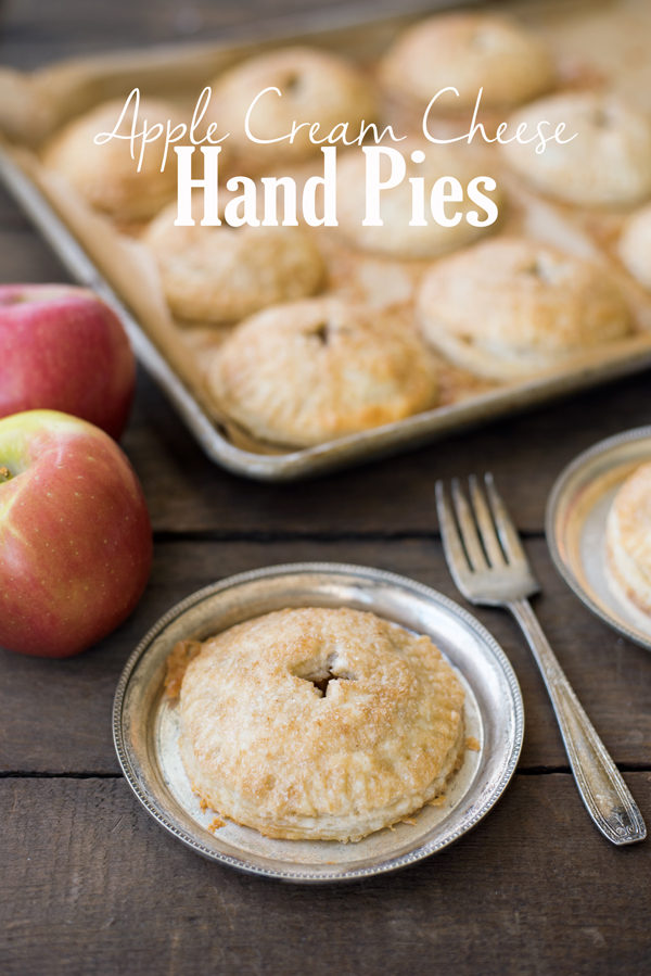 Apple Cream Cheese Hand Pies Recipe with perfect Philadelphia Cream Cheese Filling!