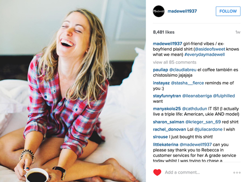 Madewell Instagram Feature A Side of Sweet