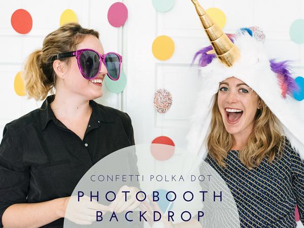 Fun Easy Photobooth Backdrop DIY Tutorial!