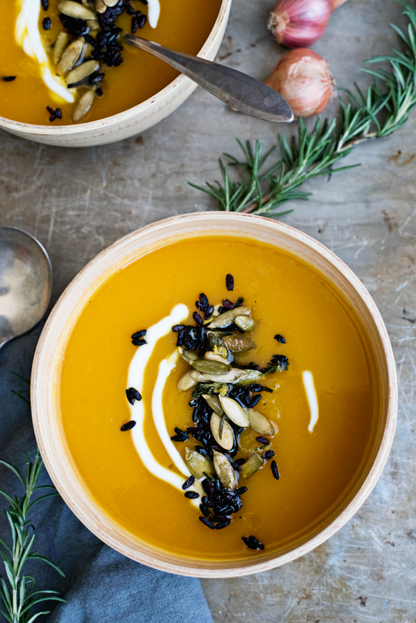 Roasted Butternut Squash Soup Recipe from Heidi Swanson of 101 Cookbook's Near & Far