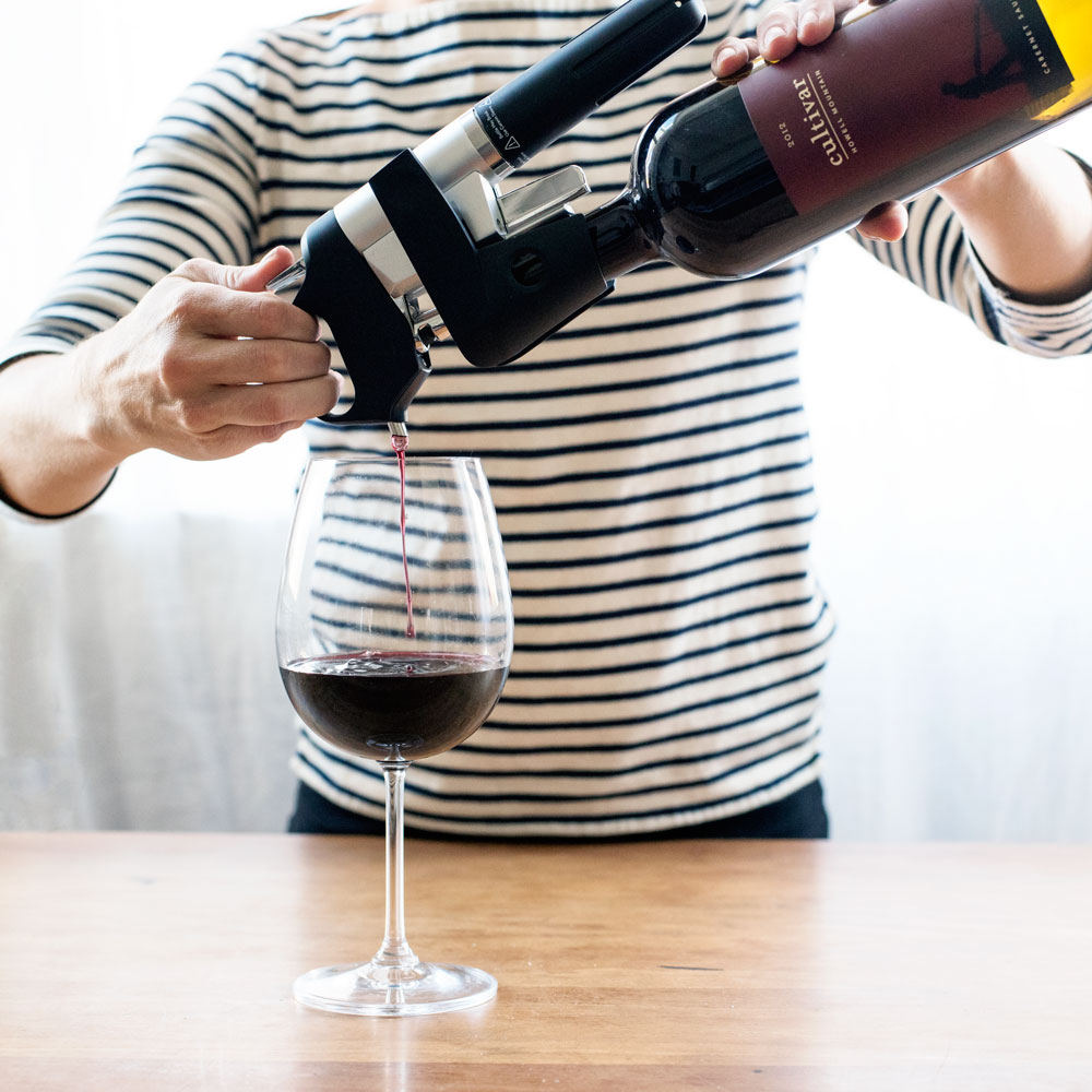 Storing and preserving your wine collection with Coravin