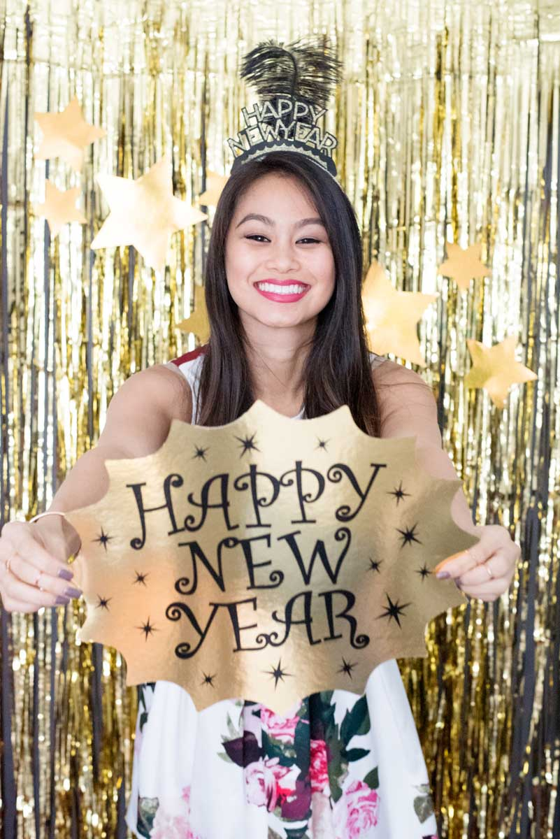 Awesome Inspiration for New Year's Eve Party Design and Themes