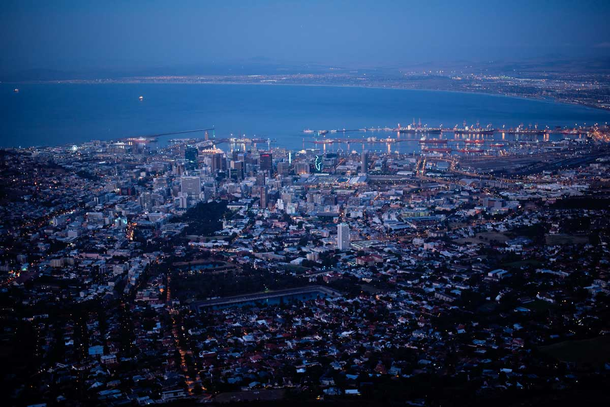 Best Scenic Views of Cape Town City, South Africa - Table Mountain