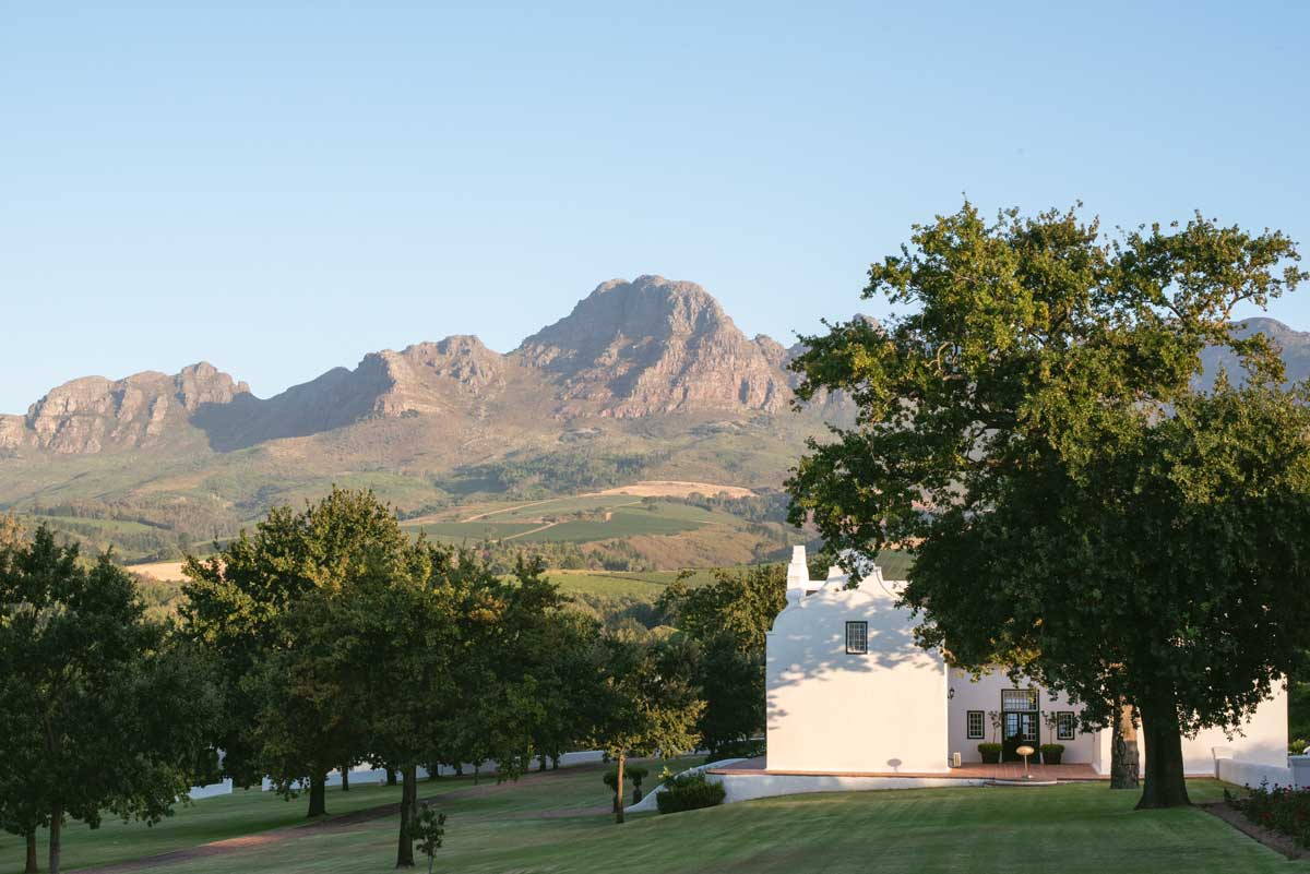 Luxury South African Wine Country Hotels Stellenbosch - Webersburg